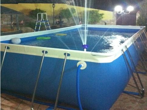 Piscina lagos 3 x completa di accessori piscine lagos - Piscina smontabile ...
