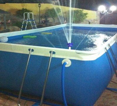 Piscine rettangolari piscine lagos for Accessori piscine intex