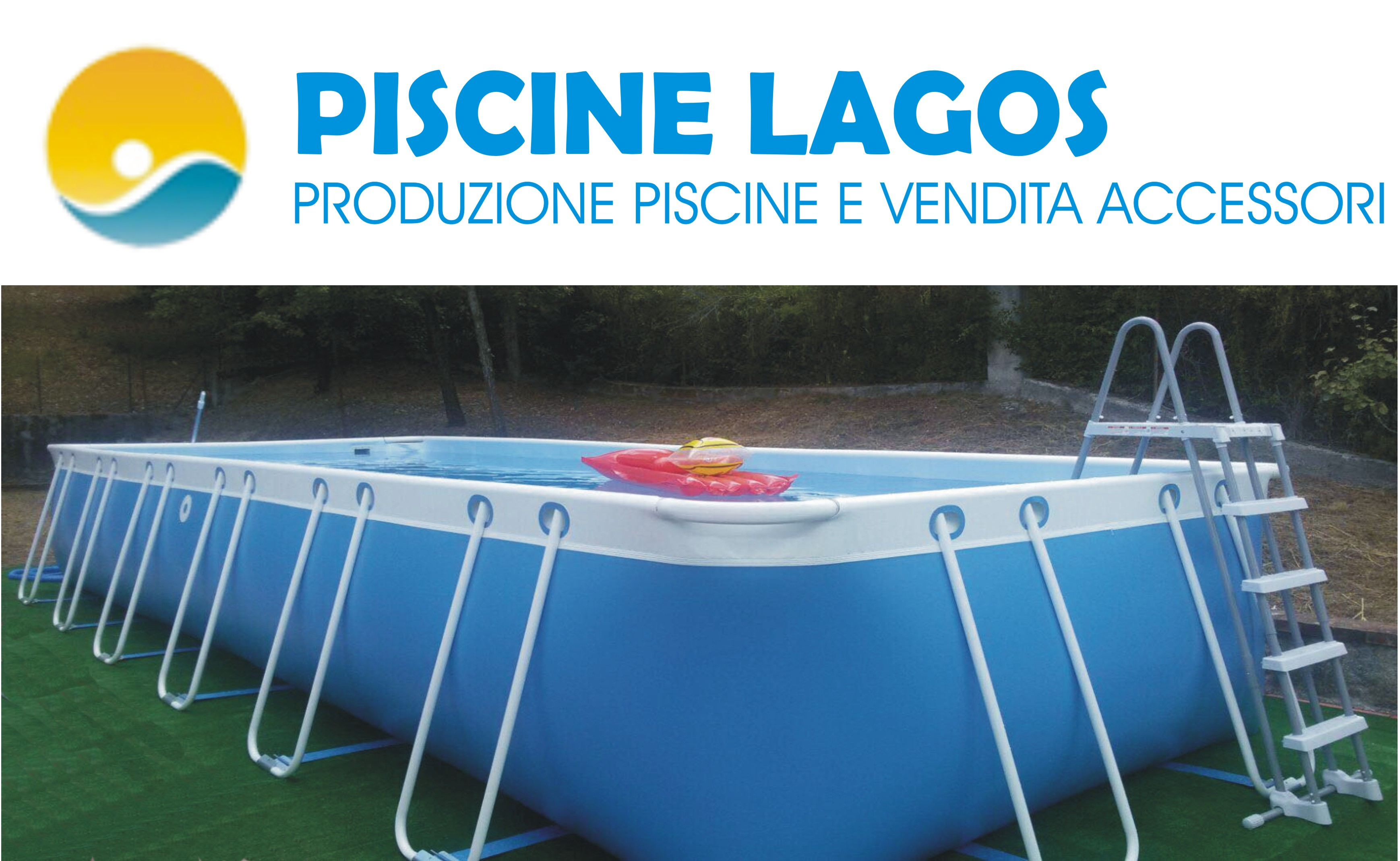 Piscine E Accessori.Piscina Lagos 2 X 3 Completa Di Accessori