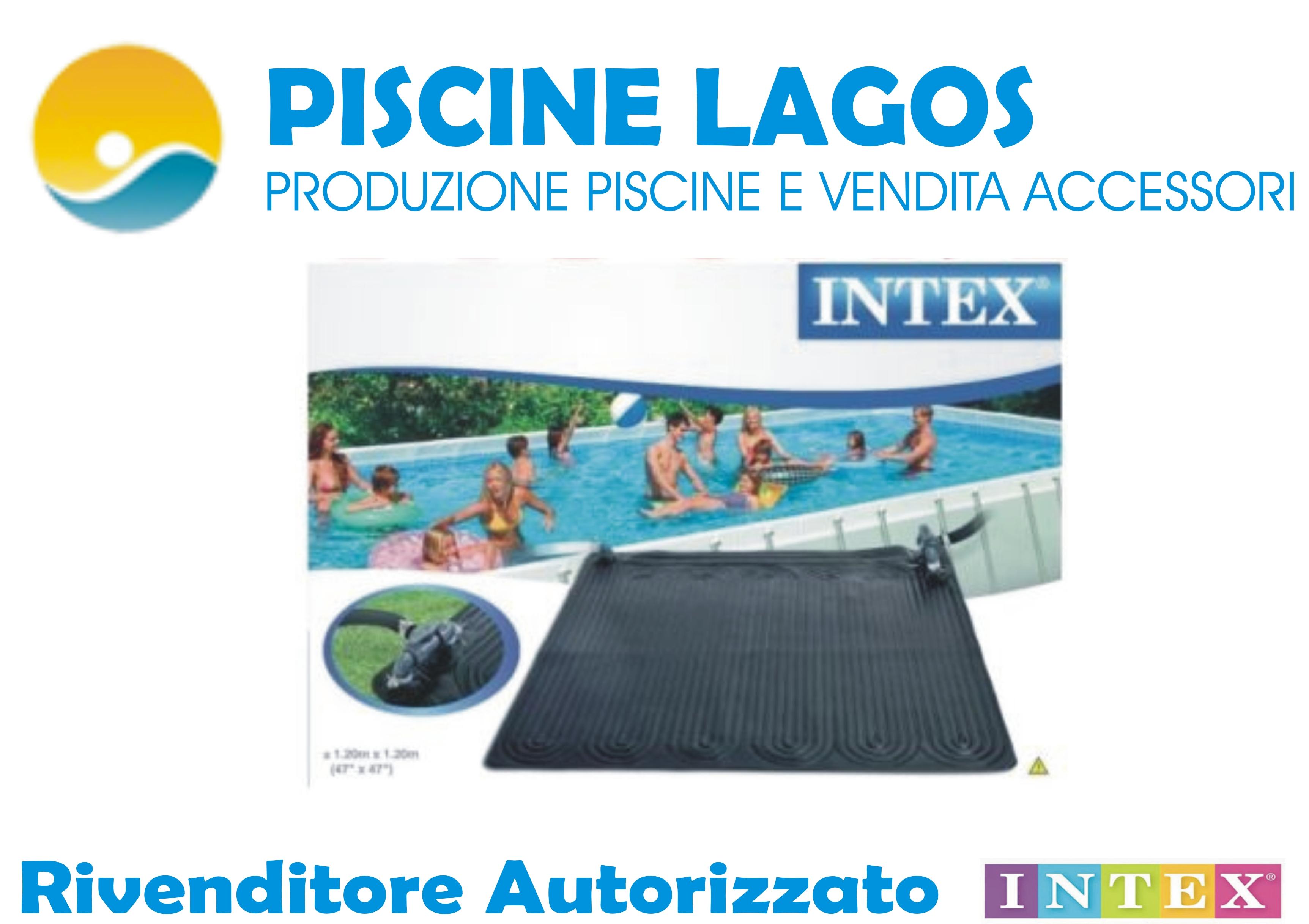 Pannello solare per riscaldamento acqua marca intex codice - Pannello solare per piscina ...