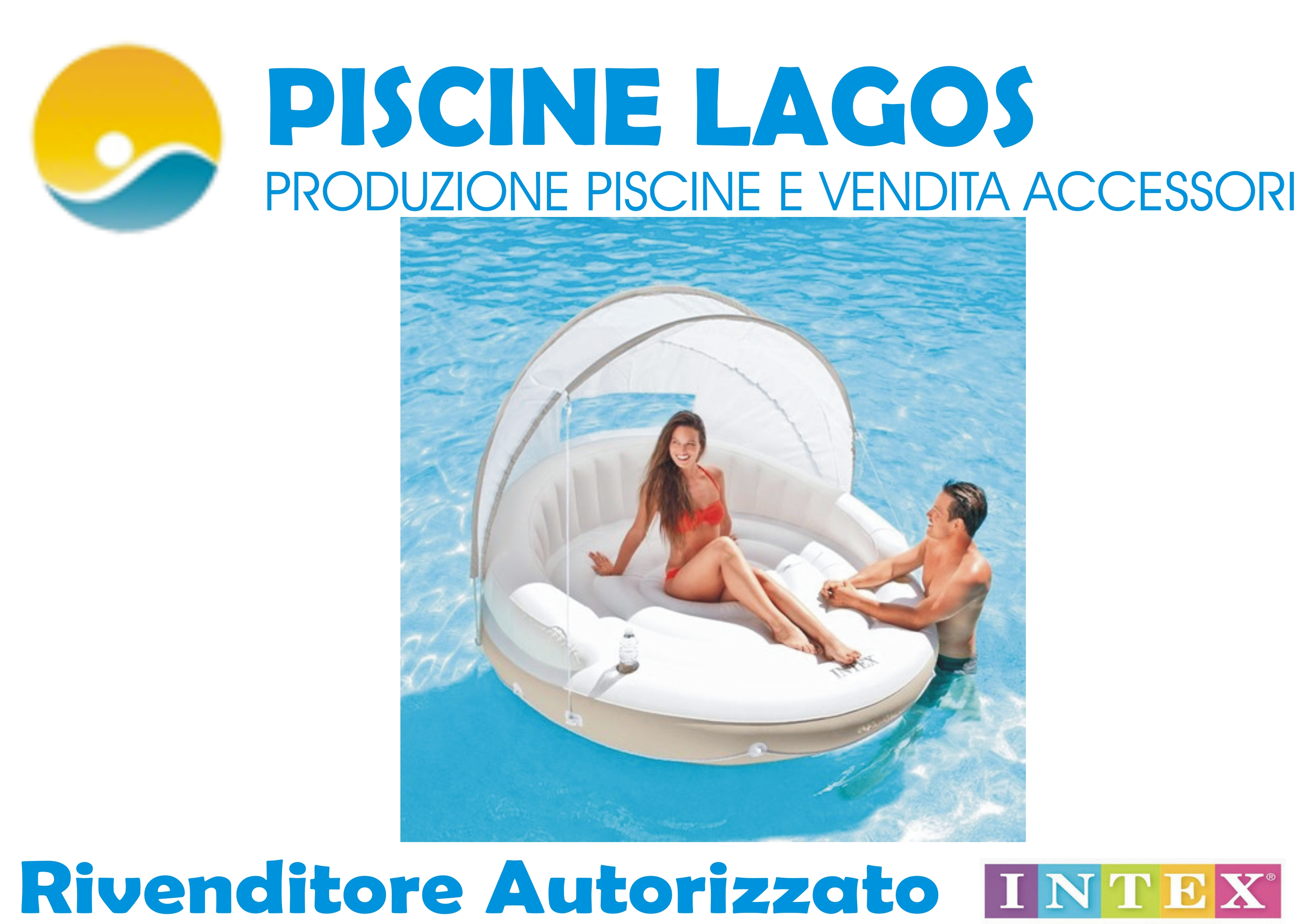 Isola galleggiante intexcod 58292 ciambellone con - Accessori piscine intex ...