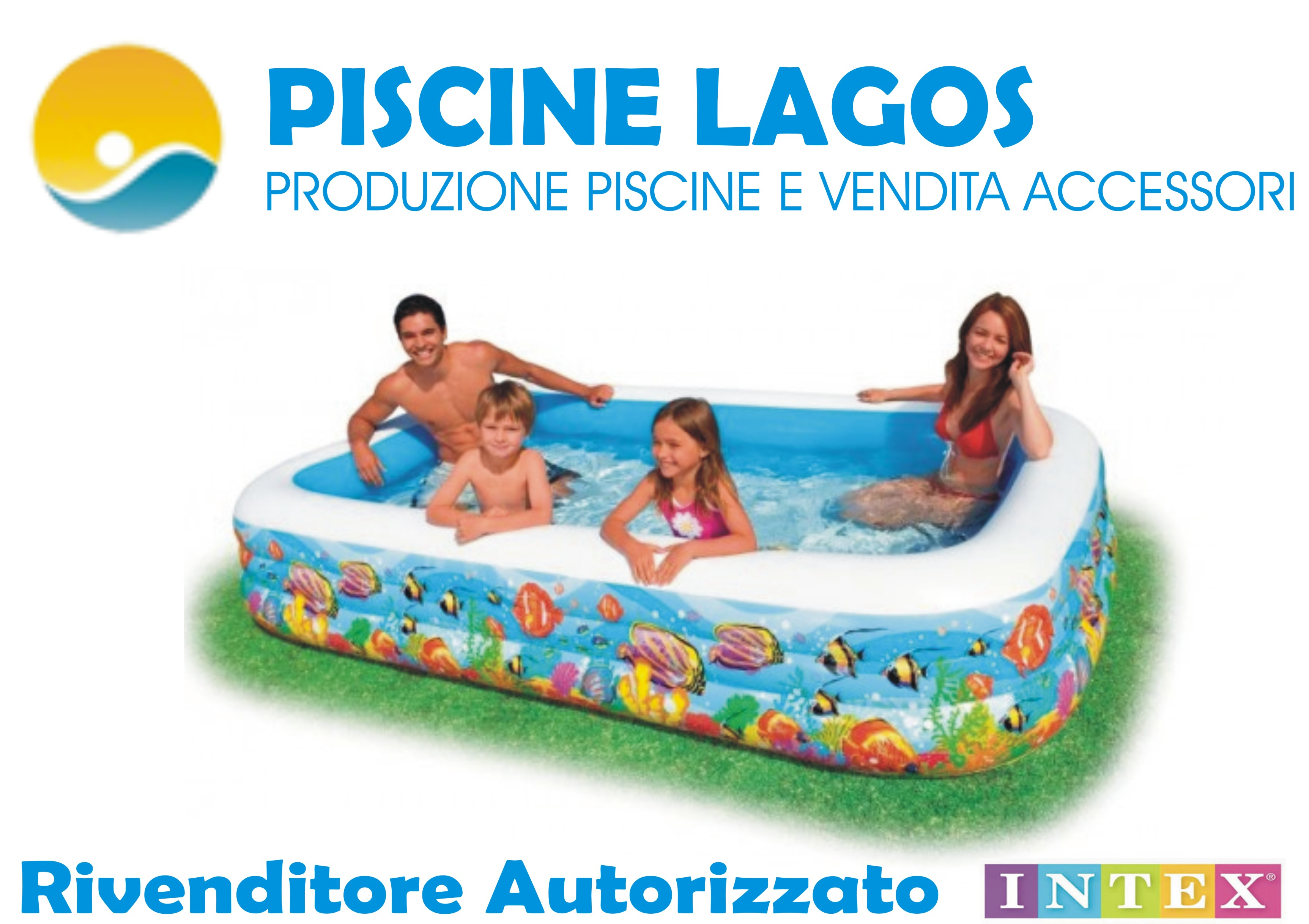 Piscina gonfiabile family intex cm 305 x 183 h 56 cod - Accessori piscine intex ...